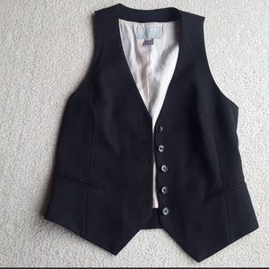 H&M Tuxedo/ Bartender Black Vest